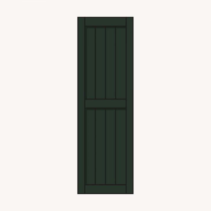 raamluik classic groen