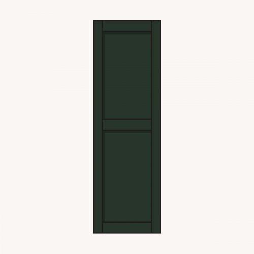 Raamluik Panel groen