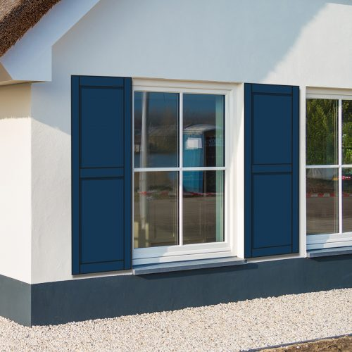 raamluik panel huis